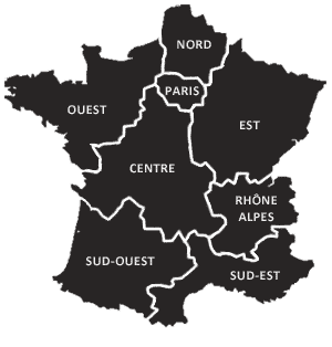 Billetterie Carte Régions